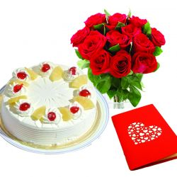 Send Cakes Greeting Card To India