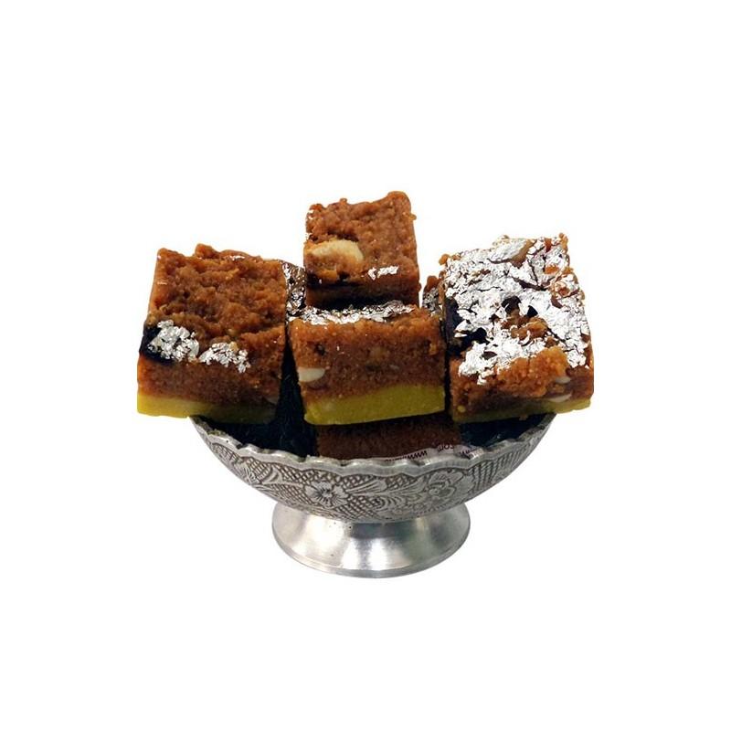 Chocolate Malai Barfi - 500gm (Kaka Halwai)