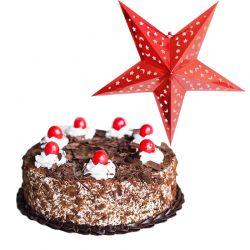 Black forest N Christmas star