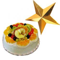 Mixed Fruit N Christmas star