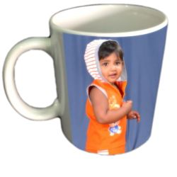 White Pongal Photo Mug