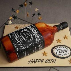 Jack Daniels cake - 2 Kg
