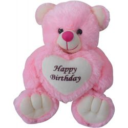 Birthday Teddy - Pink