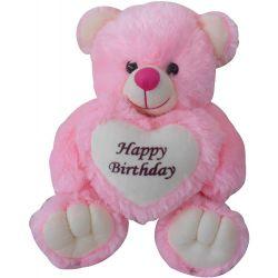 Birthday Teddy - Pink
