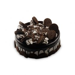 Happy Birthday Chocolate Oreo Cake (2 Pounds)