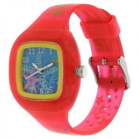 Glow in the dark watch with blue dial
