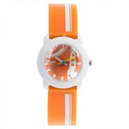 Space age orange dial plastic strap