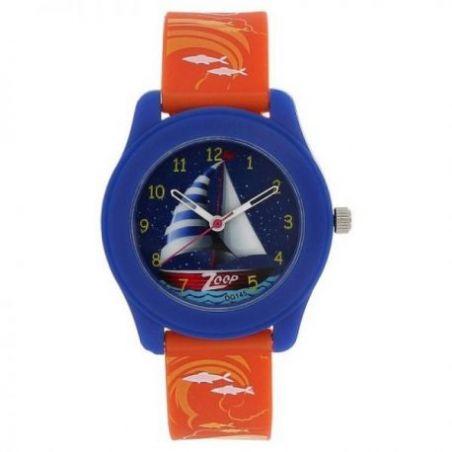 Travel blue dial plastic strap