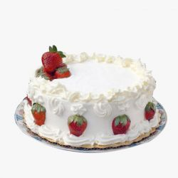 Strawberry Cake - 500gm