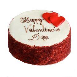 Valentine Red Velvette Cake