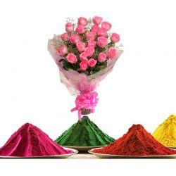 Pinky Roses n Gulal