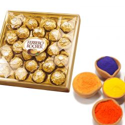 Colors of Ferrero Rocher