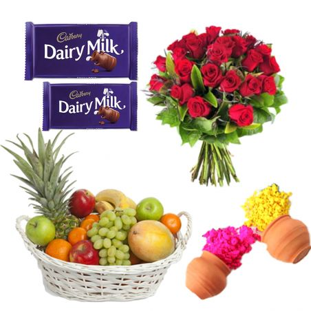 Roses n Fruits with Colors
