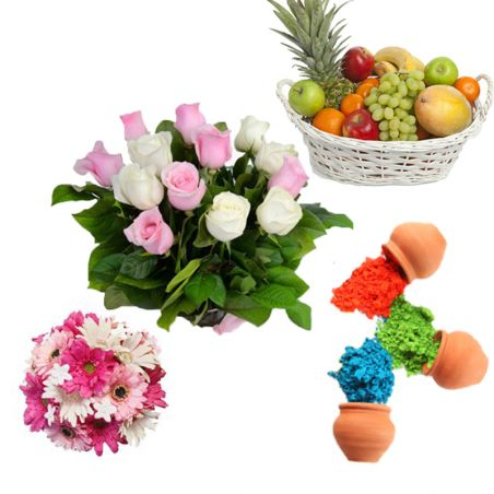 Holi Fruit Hamper
