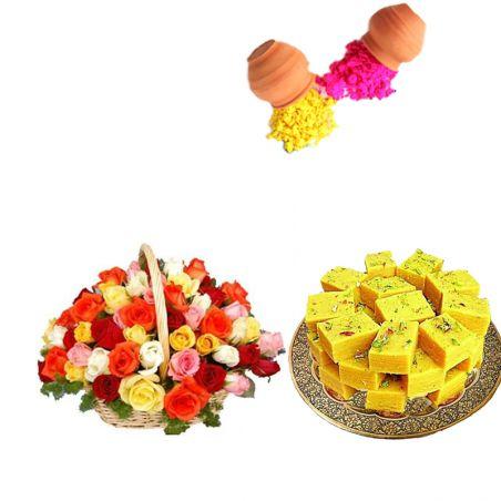 Holi Roses