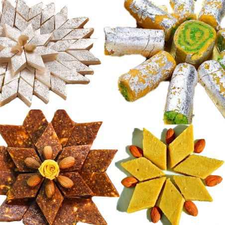 All in One Dry Fruits Sweets