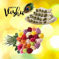 Vishu New Year Pista Roll