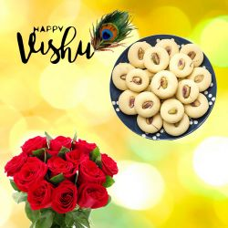 Vishu New Year Milk Peda
