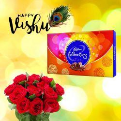 Vishu New year celebration