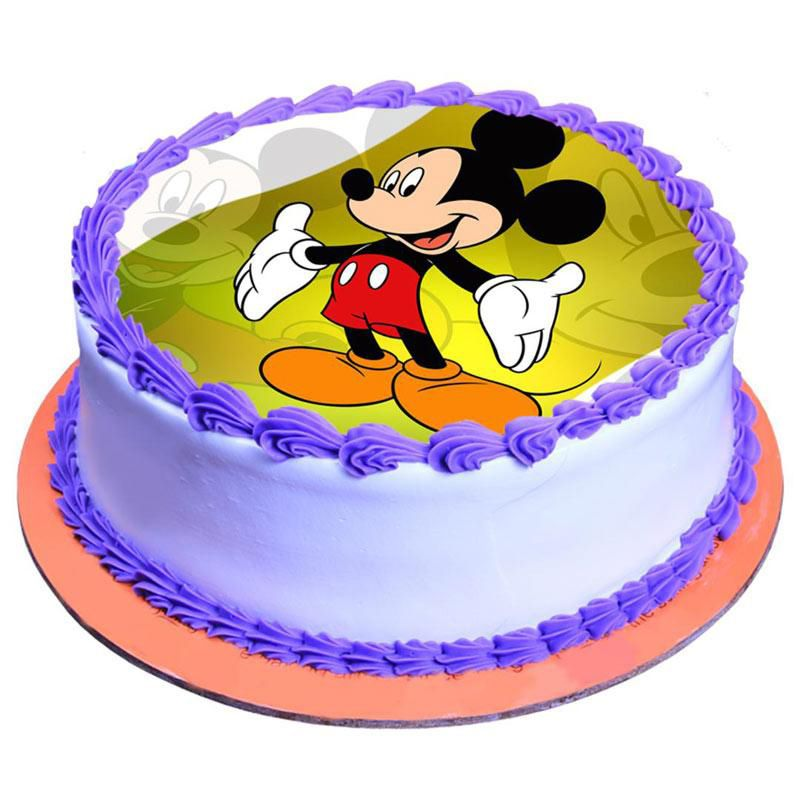 Fancy Mickey Mouse Cake- 2Kg