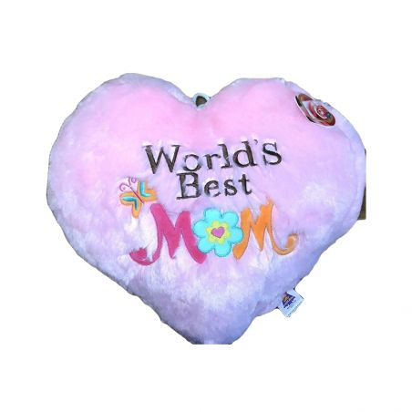Personalize Heart Shape Pillow for Mom