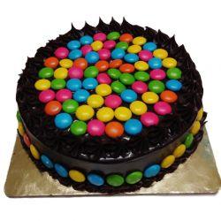 Gems Chocolate Cake - 1Kg