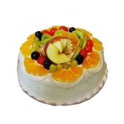 Mixed Fruit Eggless Cake - 1Kg