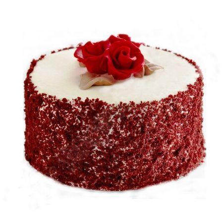 Red Velvet Eggless Cake - 1Kg