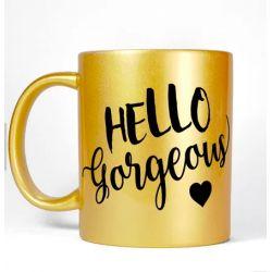 Personalize Photo Gold Mug...