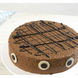 Chocolate Crackle Cake...