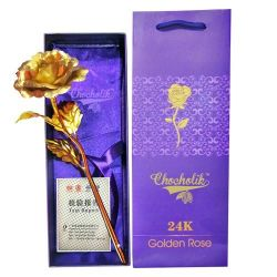 Golden Rose for Girl Friend