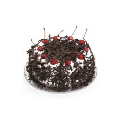 Black Forest Eggless Cake...