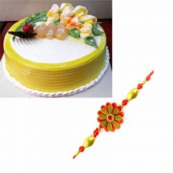 Pineapple Gateaux n Rakhi