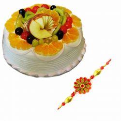 Mixed Fruit Cake n Rakhi