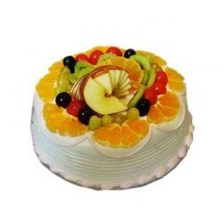 Fresh Fruit Cake - 1 Kg