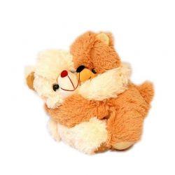 Hugging teddy