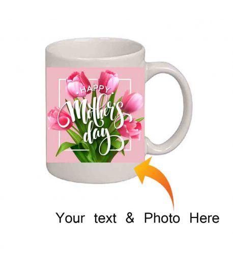 White Photo Mug for Mom