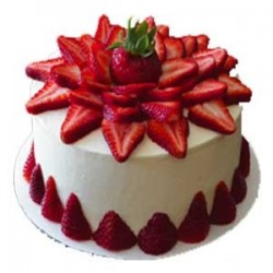 Strawberry Cake - 1kg(The Ofen)