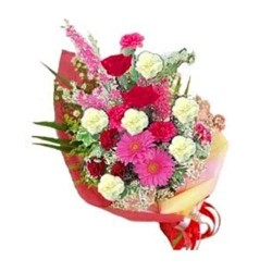 Shiny Mixed Flowers