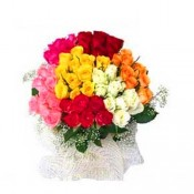 60 Mixed Roses Bunch