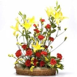 Lilies & Carnation