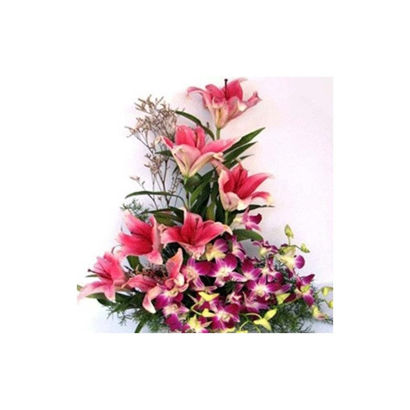 Lilies & Orchids