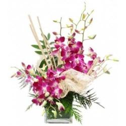 10 Orchids Vase