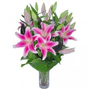 5 Lilies Vase