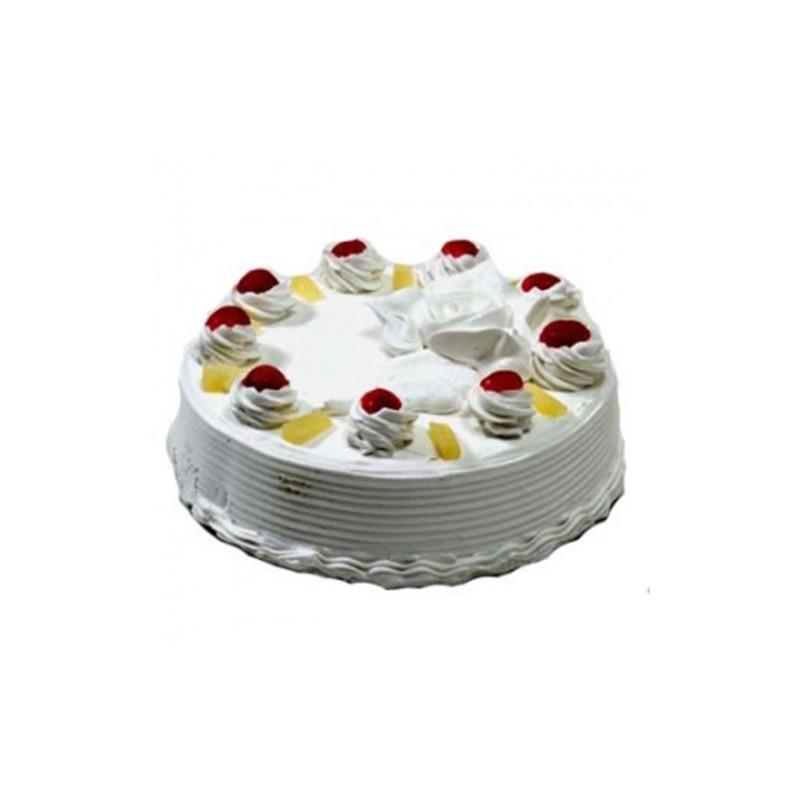 Pineapple Eggless Cake 1 kg (Bake Craft)