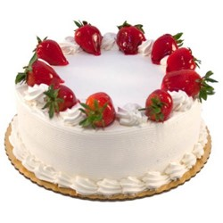 Strawberry Cake 1 kg (Bake Craft)