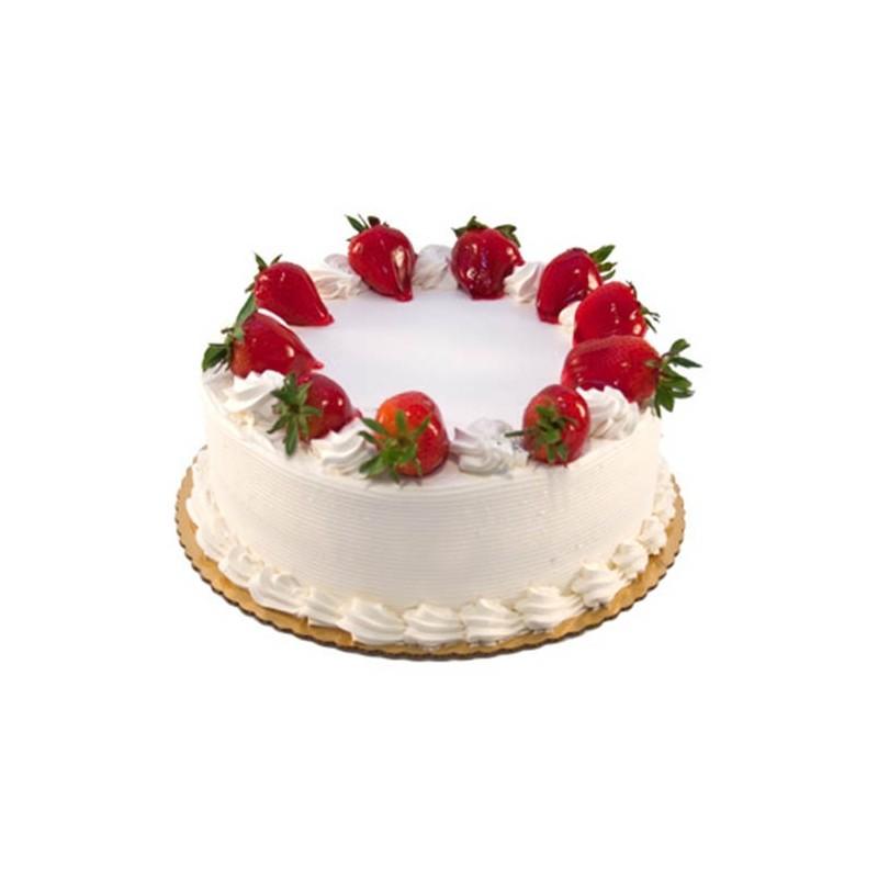 Strawberry Cake 1 kg (Bake Craft)