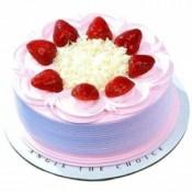 Strawberry Cake 1 kg (Aryaas Bakery)