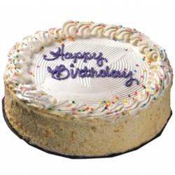 Vanilla Eggless Cake (Blaack Forest Bakery)