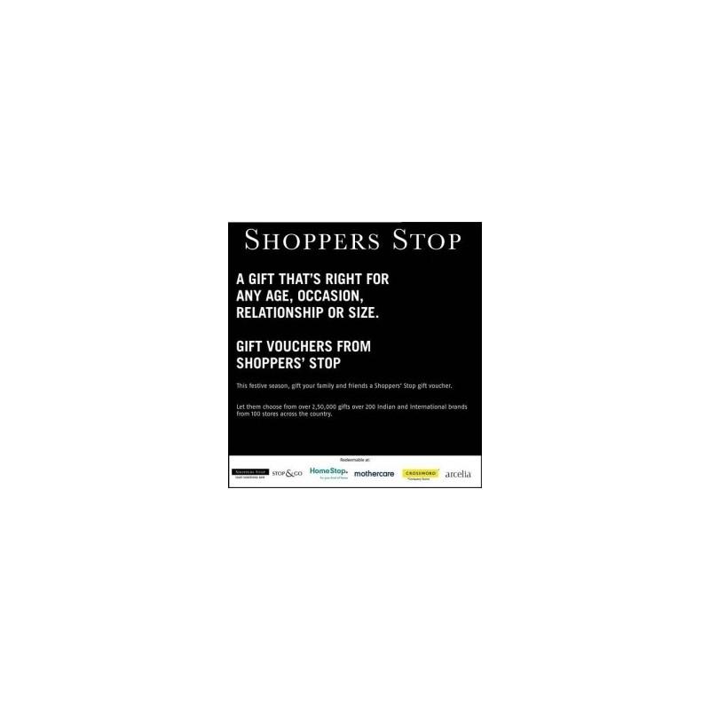 Shopper Stop - Rs.500/-
